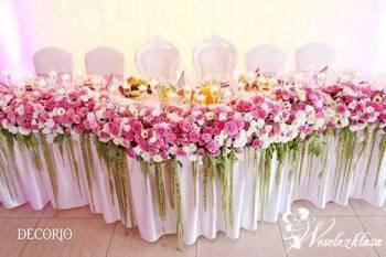 DECORIO - Dekoracje ślubne, florystyka ślubna, dekoracje kościołów, Dekoracje ślubne Żarki