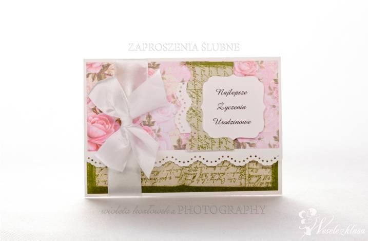 Zaproszenia ślubne, ręcznie robione, Busko-Zdrój - zdjęcie 1