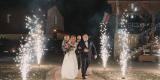 dodatki weselne -ciężki dym , napisy,iskry, Łomża - zdjęcie 4