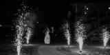 dodatki weselne -ciężki dym , napisy,iskry, Łomża - zdjęcie 5
