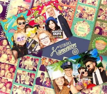 Fotobudka Kameneon Zaprojektujemy tła na Twoją imprezę!, Fotobudka, videobudka na wesele Ostrołęka