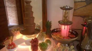 Fontanna czekoladowa, lody włoskie, Czekoladowa fontanna Bystrzyca Kłodzka