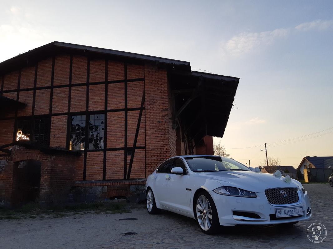Piękny biały Jaguar XF na 20 calowych felgach, Szprotawa - zdjęcie 1