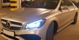 Srebrny Mercedes CLA AMG do ślubu, Kraków - zdjęcie 4