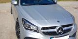 Srebrny Mercedes CLA AMG do ślubu, Kraków - zdjęcie 2