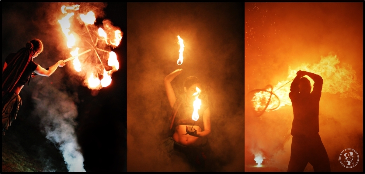 NINDEI Fireshow - profesjonalny spektakl tańca z ogniem, Częstochowa - zdjęcie 1