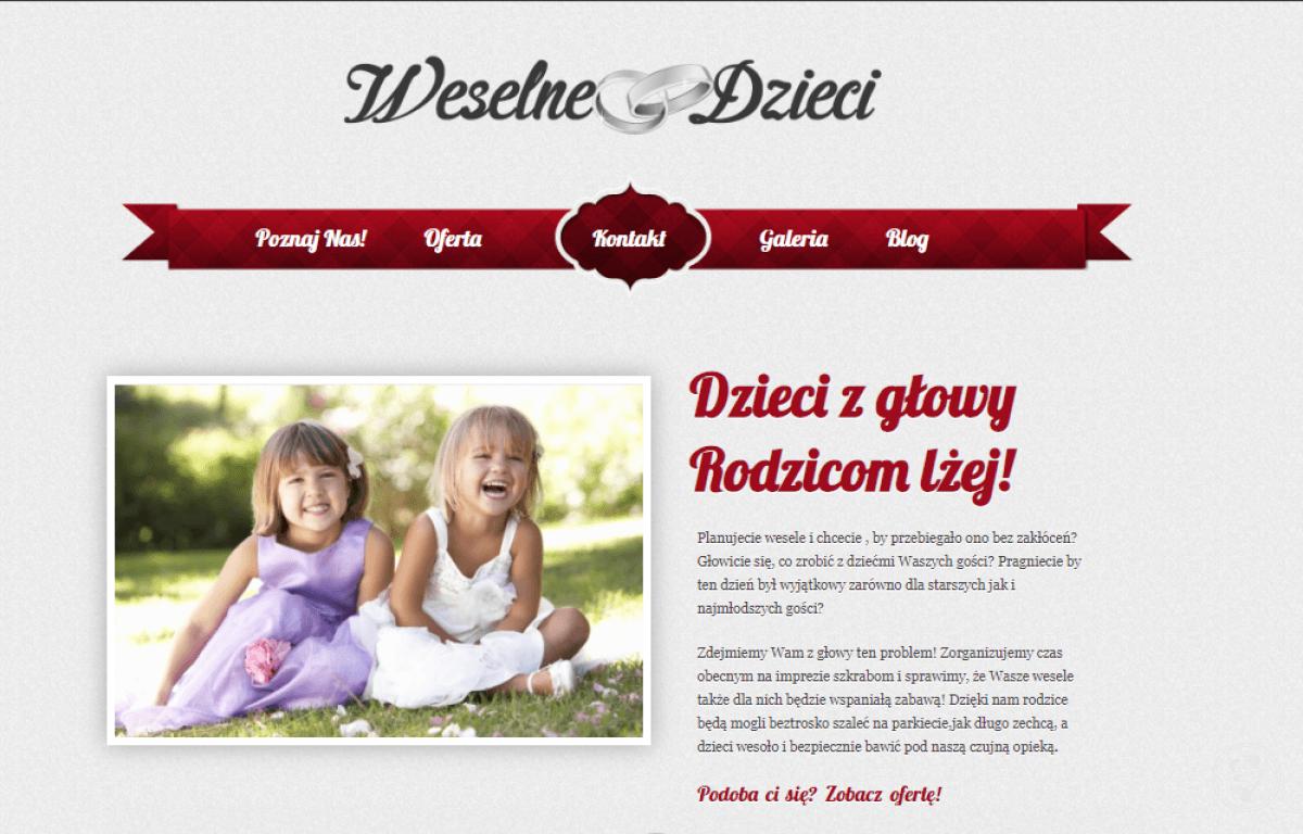 Weselne Dzieci - opieka i animacje z pomysłem!, Kraków - zdjęcie 1