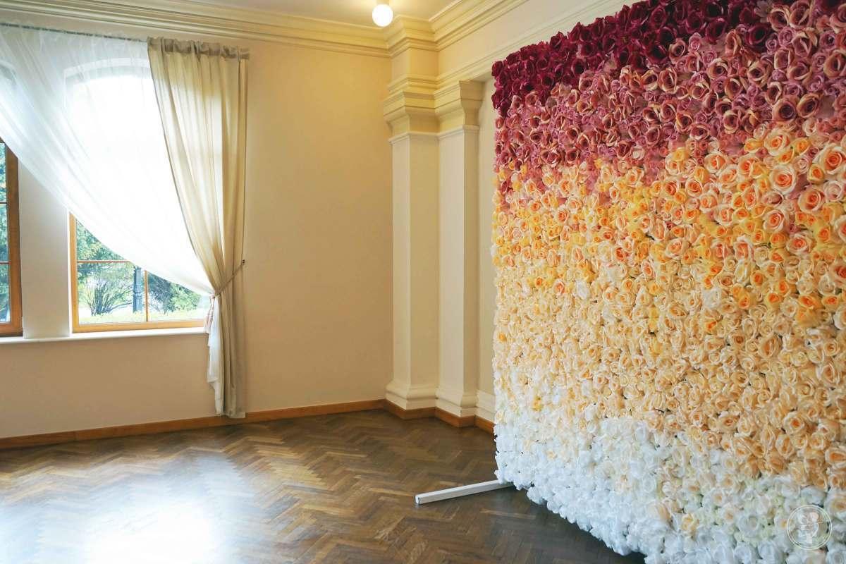 Ścianka kwiatowa, ścianka na wesele, Czechowice-Dziedzice - zdjęcie 1