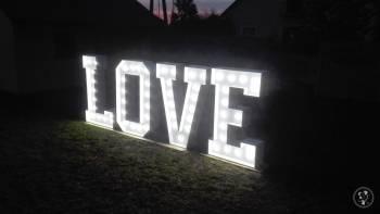 Napis LOVE 160 cm, Napis Love Bielsk Podlaski