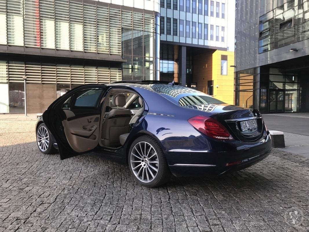 Auto do ślubu Mercedes S Long, Gdynia - zdjęcie 1