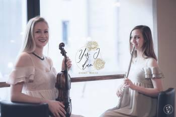 Yes I duo- duet, trio na ślub, oprawa muzyczna ślubu, skrzypce, flet, Oprawa muzyczna ślubu Świątniki Górne