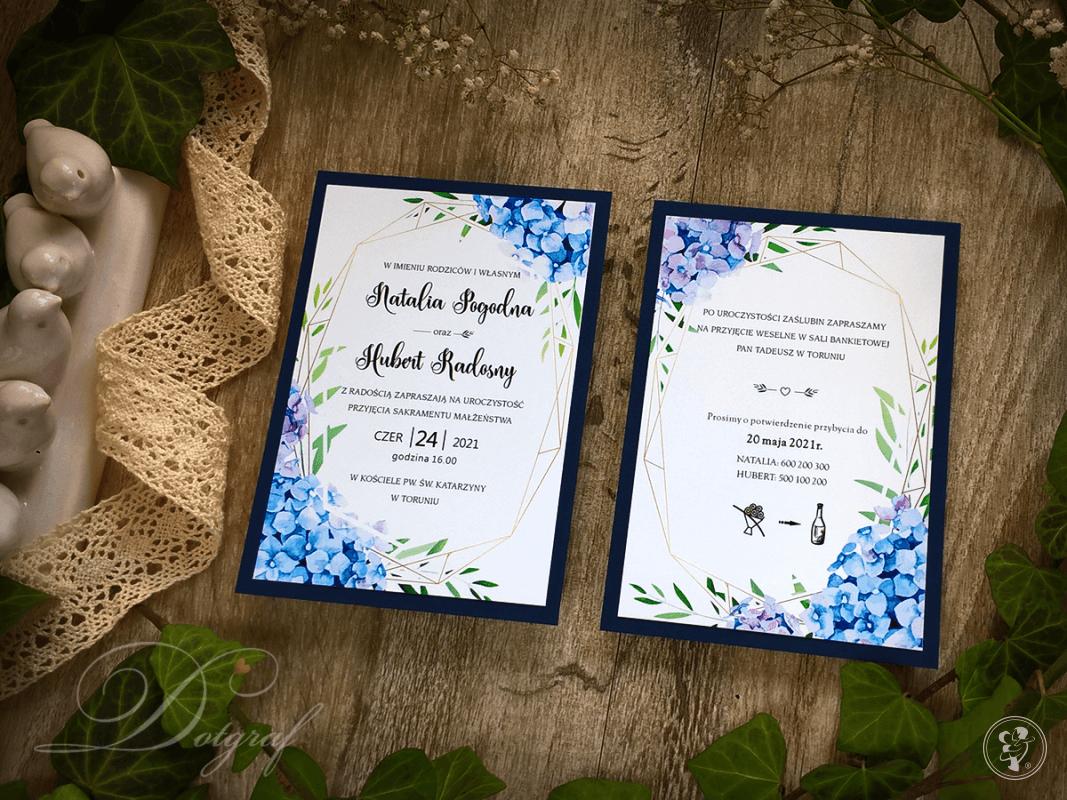 Zaproszenia ślubne i dodatki weselne - Dotgraf, Łowicz - zdjęcie 1