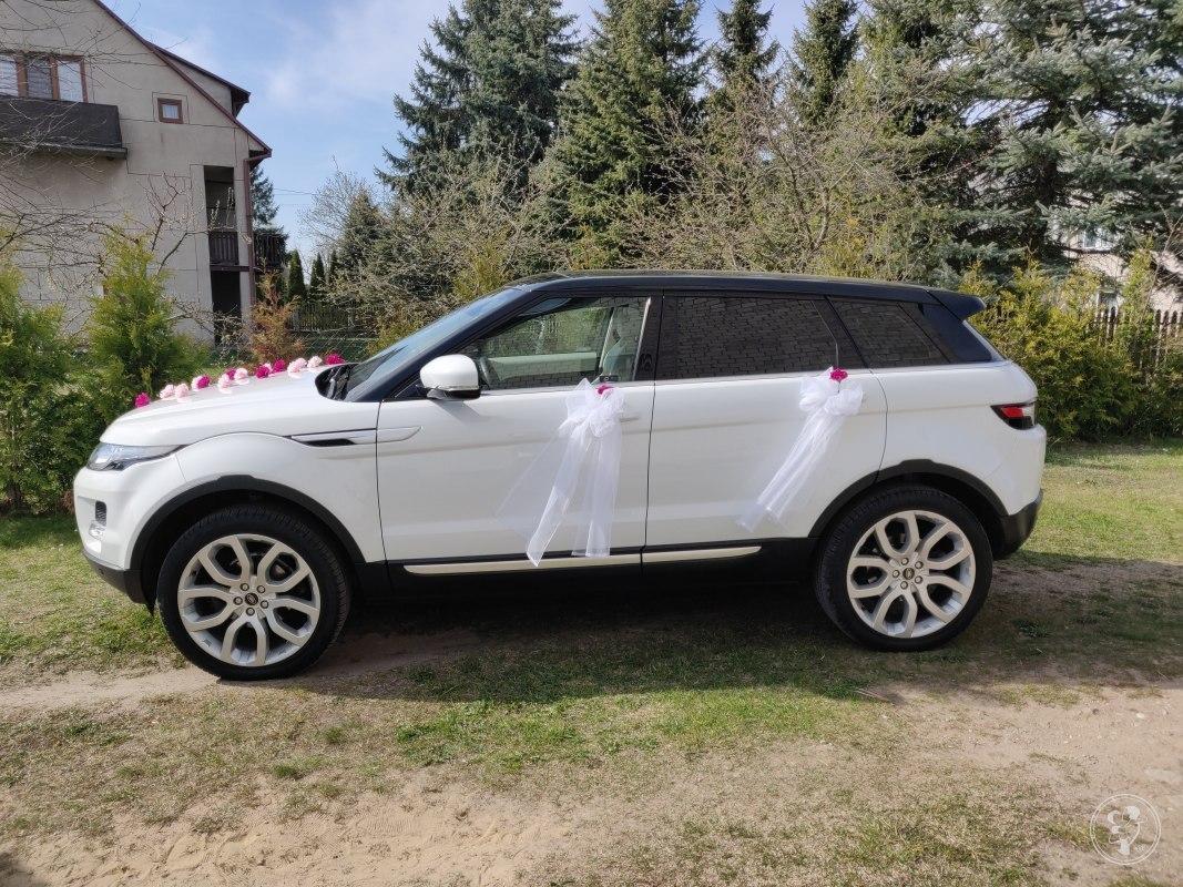 Auto do ślubu Range Rover Evoque biało czarny panorama 20' 240 KM, Warszawa - zdjęcie 1
