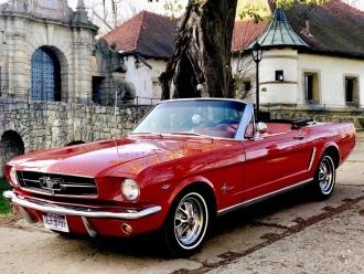Ford Mustang Kabriolet 1965r oraz 1987r Rolls Royce Corniche II Kabrio,  Bochnia
