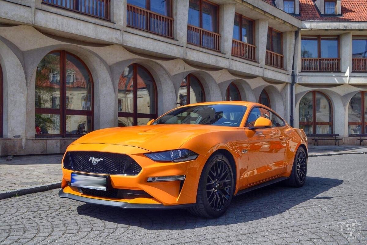 Mustang 5.0 GT 2018r Do ślubu oraz na inne okazje, Warszawa - zdjęcie 1