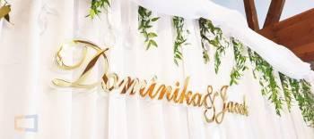 Litery 3D unikatowa dekoracja ślubna, Dekoracje ślubne Józefów Lubelskie