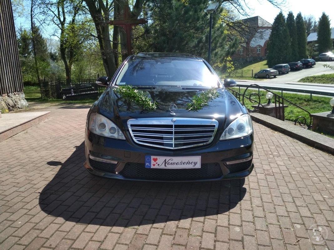 Mercedes-Benz S450 4matic Lorinser do ślubu, Dziemiany - zdjęcie 1