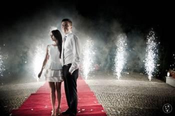 Efekty ślubne - KONFETTI, BAŃKI, LASERY, ISKRY, PIRO, BALONY I INNE, Unikatowe atrakcje Warszawa