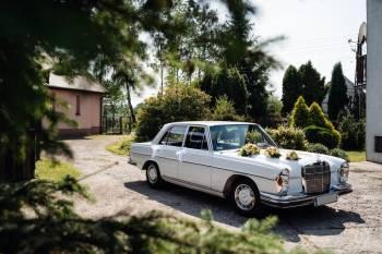Zabytkowy Mercedes lub Audi Q5., Samochód, auto do ślubu, limuzyna Ryglice