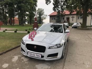 Jaguar do ślubu, Samochód, auto do ślubu, limuzyna Poniec