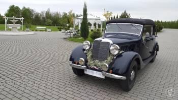 SAMOCHÓD ZABYTKOWY MERCEDES 170V  Z  1936r CABRIO RETRO DO ŚLUBU, Samochód, auto do ślubu, limuzyna Krzanowice