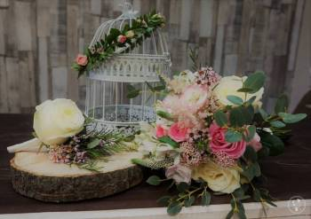Dekoracje kwiatowe, florystyczna oprawa ślubów, Dekoracje ślubne Karczew