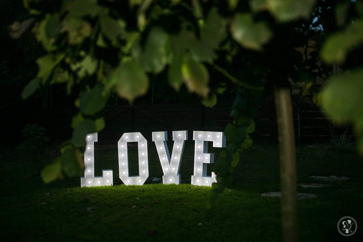 Podświetlany Napis Love, Pieńsk - zdjęcie 1