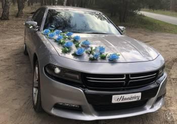 Auto na ślub Dodge Charger legendarny 5.7 Hemi V8, Samochód, auto do ślubu, limuzyna Rzepin