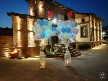 Koronkowy Motylek Balony LED z wyjątkową oprawą, Balony, bańki mydlane Bytom