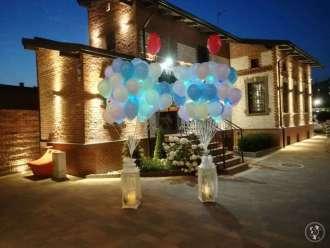 Koronkowy Motylek Balony LED z wyjątkową oprawą,  Bytom