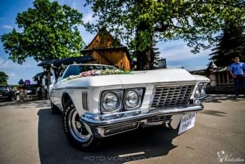 Buick Riviera Boattail z 1972r., Samochód, auto do ślubu, limuzyna Stalowa Wola