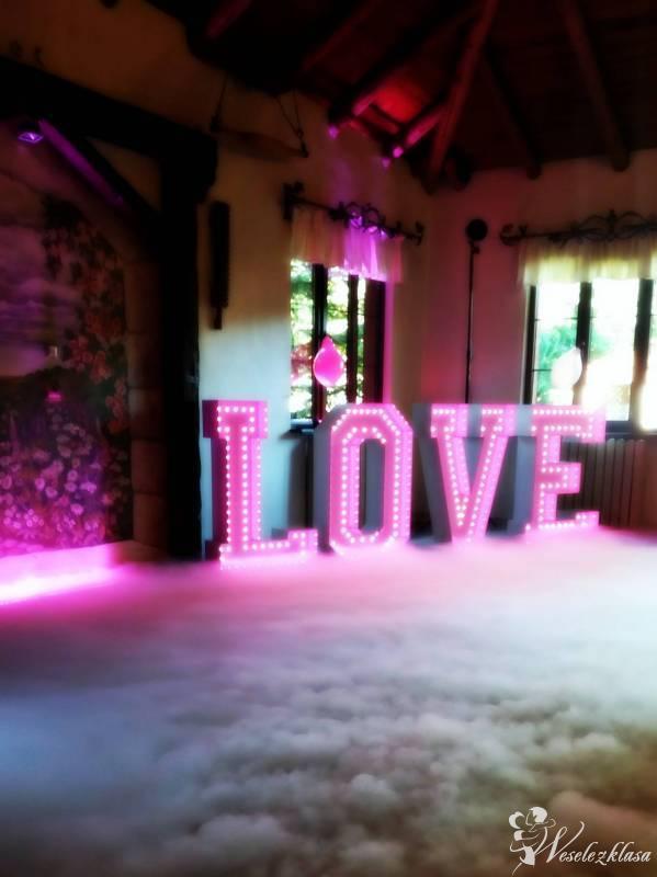 Napis LOVE LED RGB, Dębnica Kaszubska - zdjęcie 1