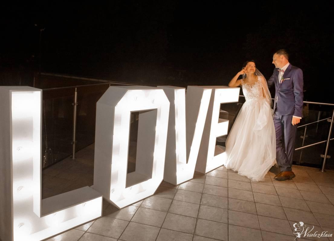 Napis LOVE duży XXL 120 cm wesele - transport, Leszno - zdjęcie 1
