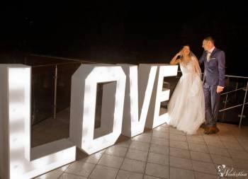 Napis LOVE duży XXL 120 cm wesele - transport, Napis Love Żerków