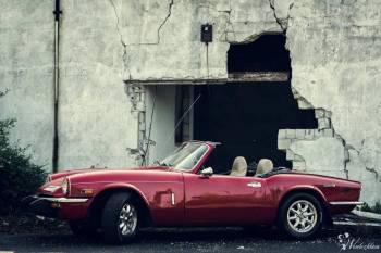 Wynajem Triumph Spitfire cabrio kabriolet, Samochód, auto do ślubu, limuzyna Warszawa