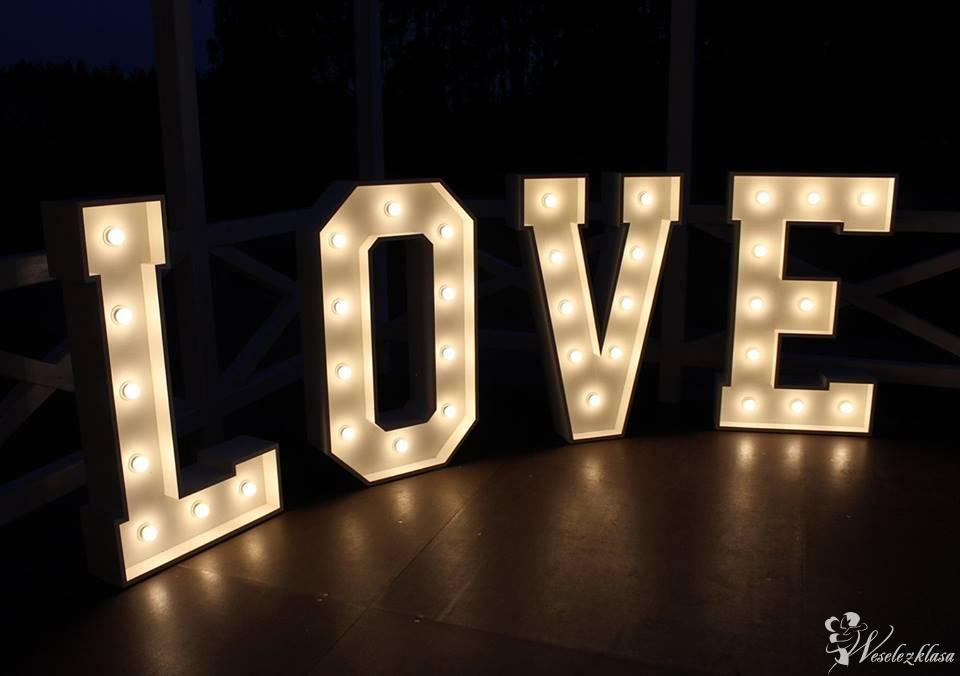 Wynajem napisu Love, Włocławek - zdjęcie 1