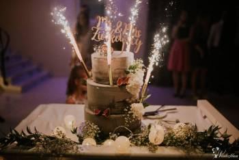 Torty weselne, Candy bar, gifty dla gości - Baristacja, Słodki kącik na weselu Wasilków