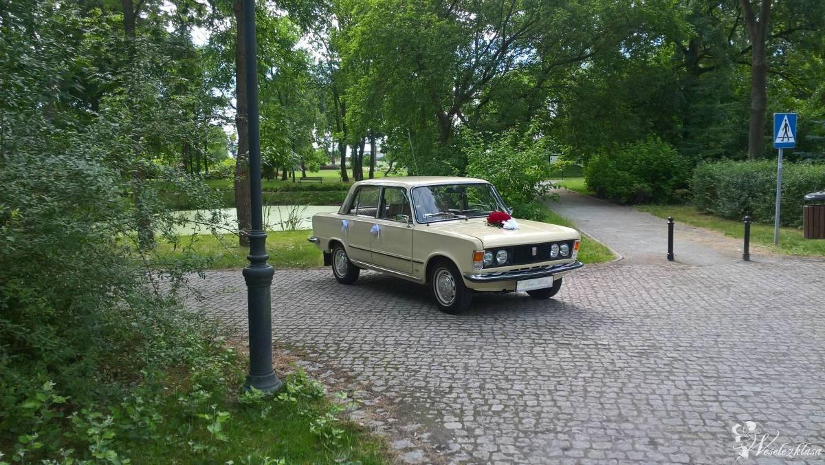 Auto do ślubu- Fiat 125p.  z 1976r., Poznań - zdjęcie 1