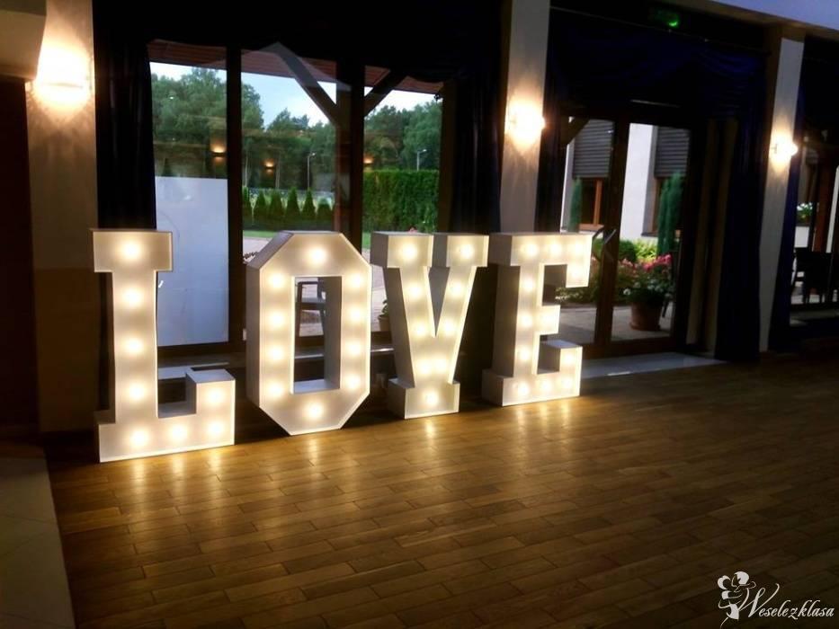 Napis LOVE | Miłość | SERCE Led | Zespół Muzyczny | - firma Blaster, Olsztyn - zdjęcie 1