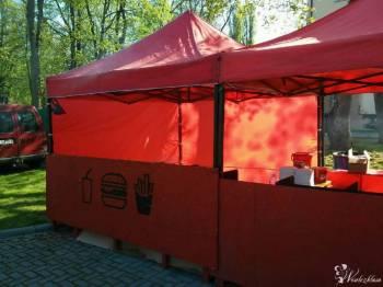 Namioty 3x3 metry, czerwone, dowolna aranżacja, zaplecze sprzętowe, Wypożyczalnia namiotów Kolno