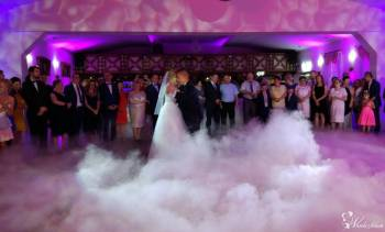 CIĘŻKI DYM Pierwszy taniec w chmurach / DEKORACJA Światłem, Ciężki dym Żarki