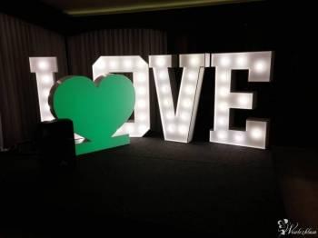 Mega Napis LOVE 1,2m na wesele na zaręczyny na sesje Wynajem, Napis Love Kołaczyce