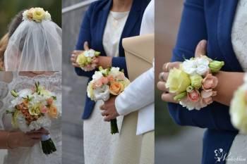 Kwiaty do ślubu - bukiety, sale,kościoły, plener, auta,świadkowie ...., Dekoracje ślubne Bełchatów