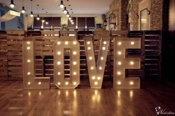 Napis LOVE LED, Napis Love Krzanowice