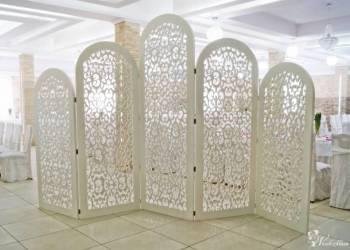 Przepiękna ścianka ażurowa 2,4 m x 4,0 m, Dekoracje ślubne Góra Kalwaria