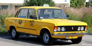 Fiat 125p WPT1313 z serialu ZMIENNICY!, Samochód, auto do ślubu, limuzyna Warszawa