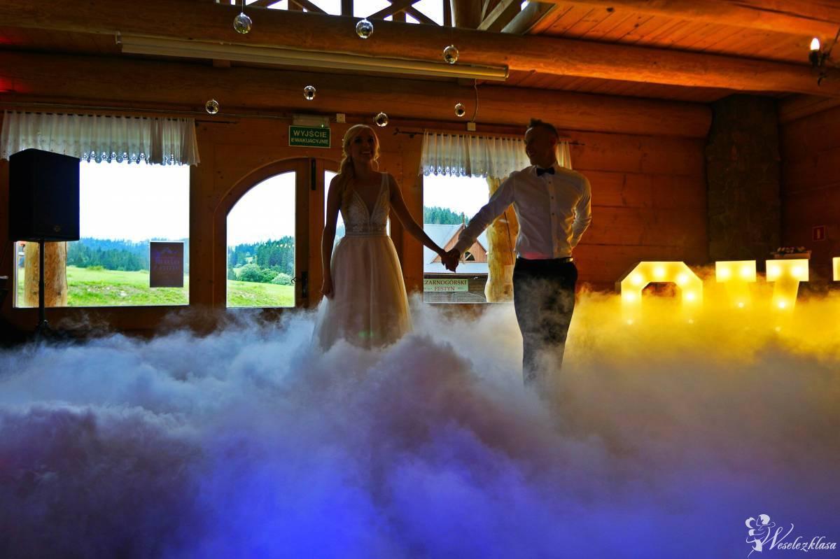 Ciężki dym-pierwszy taniec, napis LOVE, foto-budka, Nowy Sącz - zdjęcie 1