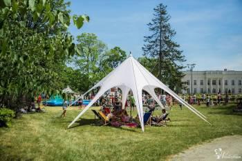 WYNAJEM Namiot Jehlan Gwiazda Biały średnica 10m, Wypożyczalnia namiotów Olsztyn