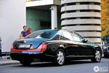 Maybach jedyny w swoim rodzaju prestiżowy, Samochód, auto do ślubu, limuzyna Lipsko