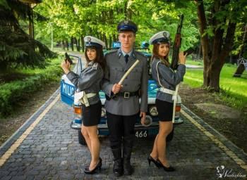 MILICJA - Nietypowa brama Weselna Eskorta Atrakcja na wesele ślub, Unikatowe atrakcje Sokołów Małopolski